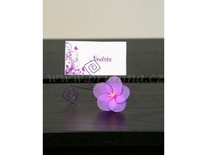 Květinový držák na jmenovku - sada 5 ks