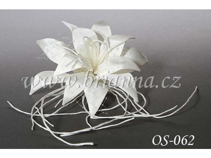 Svatební ozdoba na šaty OS-062 - SLEVA