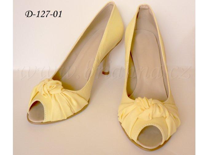 D 127 01 light yellow