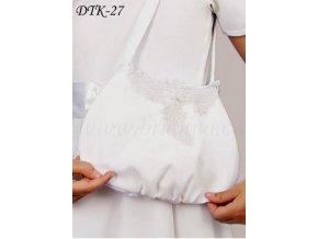 Dětská svatební kabelka s aplikací DTK-27