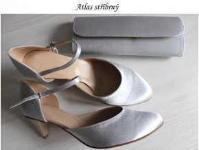 atlas stříbrný