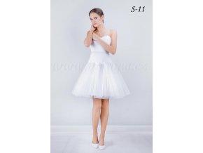 Krátká svatební spodnice S-11