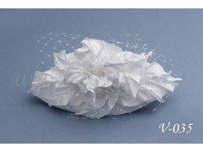Svatební ozdoba do vlasů  V-035