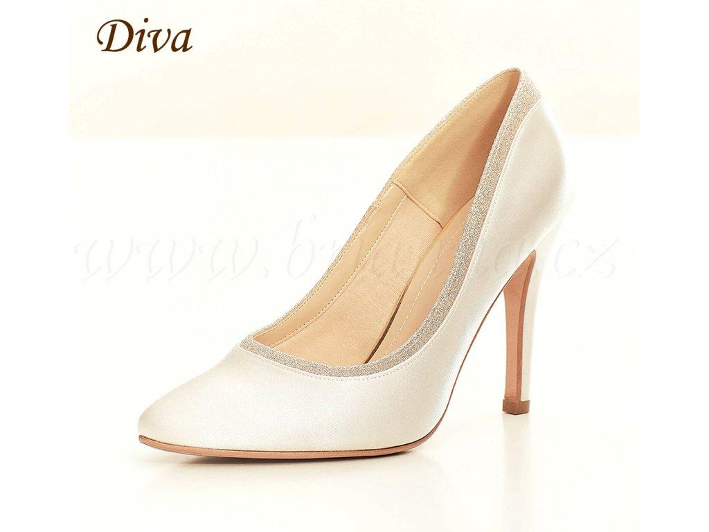 fb394a847302 Svadobné topánky DIVA