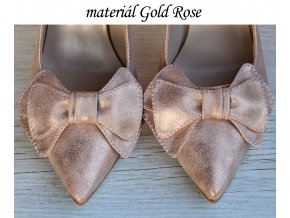 Materiál Gold Rose