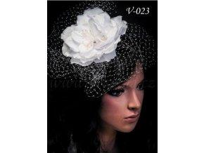 4066 svatebni kvetina do vlasu v 023 bila sleva