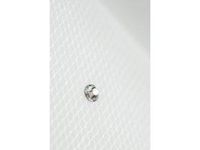 Dlouhý svatební závoj s 50 krystaly Swarovski Z-63 (Barva bílá)