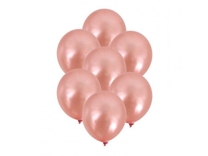 rose gold balonky