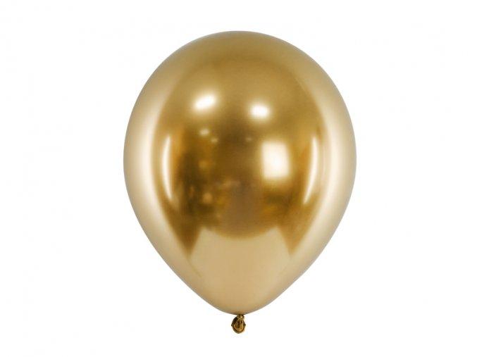 metalicky zlaty balonek www.bridetobe.cz