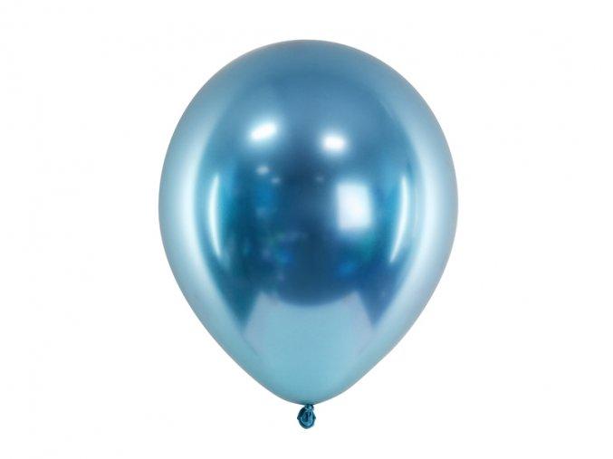 metalicky modry balonek www.bridetobe.cz