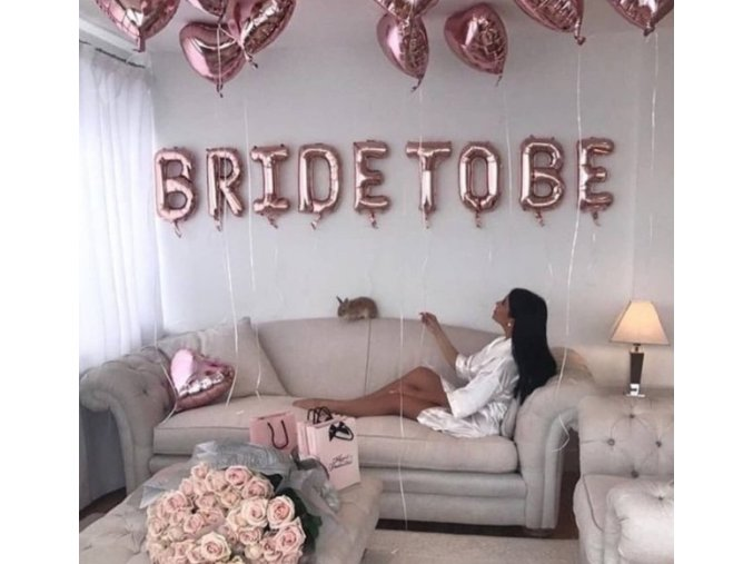 16inch Rose Gold Bride To Be Letter Foil Balloon Love heart Balloons Hen Party Decorations Wedding.jpg 640x640
