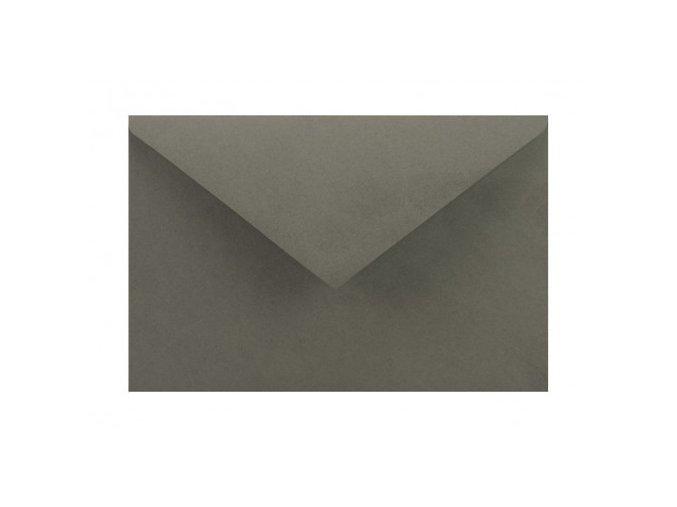 obálka antracit šedá c6 110 g nk