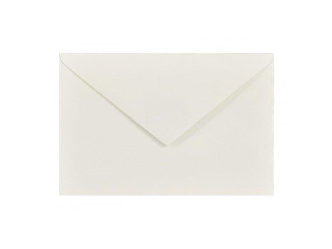 obálka bílá krémová c6 110 g nk