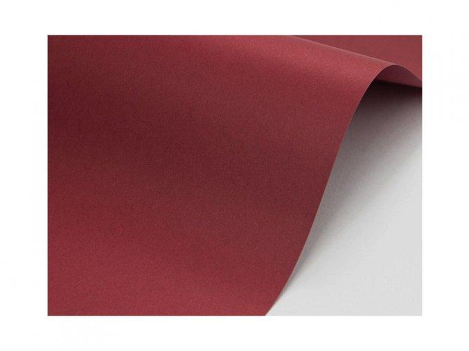 bordo tmave cervena papir A4 250g www.bridetobe.cz