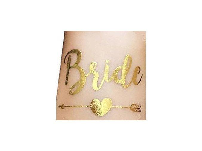 Bride tetování