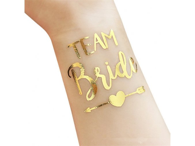 Wedding Party Decoration 12PCS set Bride Team Temporary Tattoo Sticker Bachelorette Party Favors Gold Bridesmaid Bridal.jpg 640x640