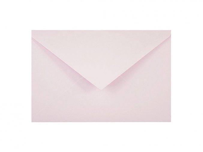 Obálka C6 - Pastelově růžová