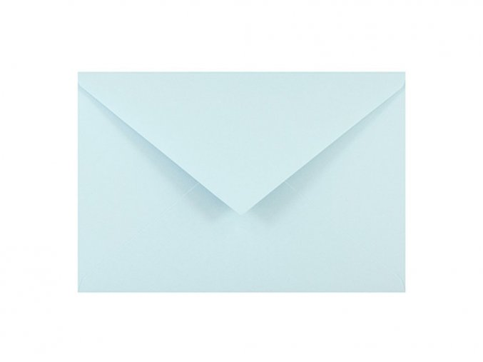 Obálka C6 - Pastelově modrá
