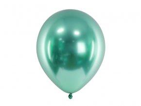metalicky zeleny balonek www.bridetobe.cz