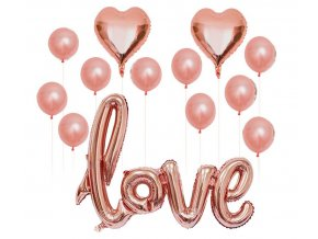 16inch Rose Gold Bride To Be Letter Foil Balloon Love heart Balloons Hen Party Decorations Wedding