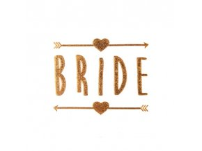 FENGRISE Gold Team Bride Temporary Tattoo Stickers Bachelorette Party Bride to be Bridal Shower Party Favors.jpg 640x640