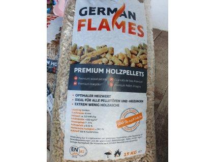 Premium EN+A1 smrkové German Flames