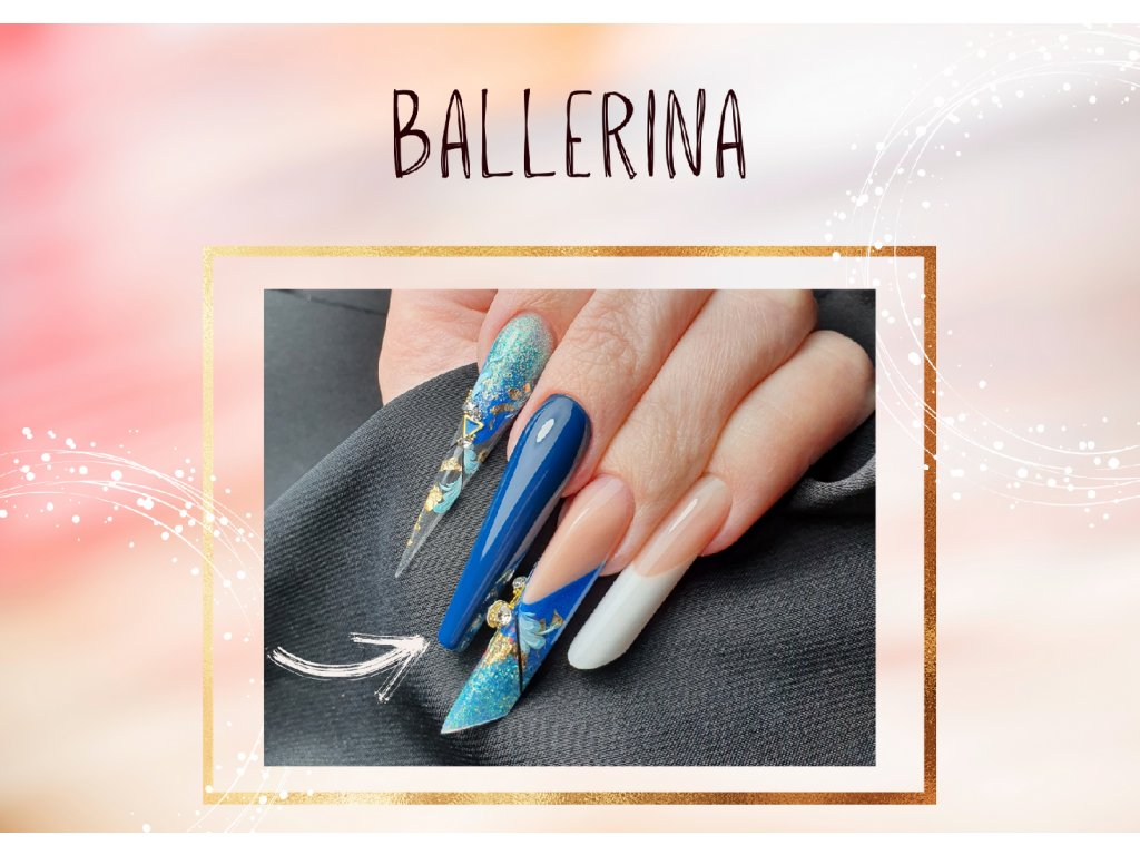 Kurzy šablona na web ballerina