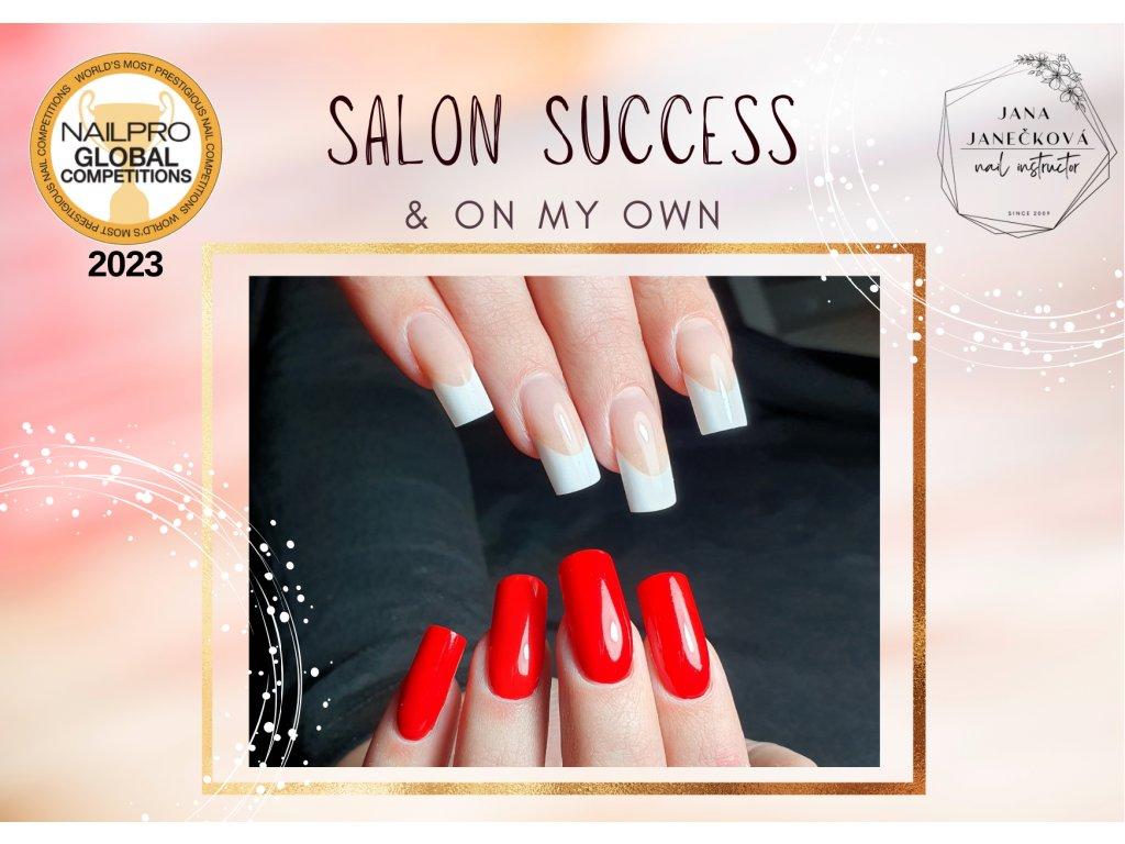 Salon Success & On My Own - příprava na Nailpro
