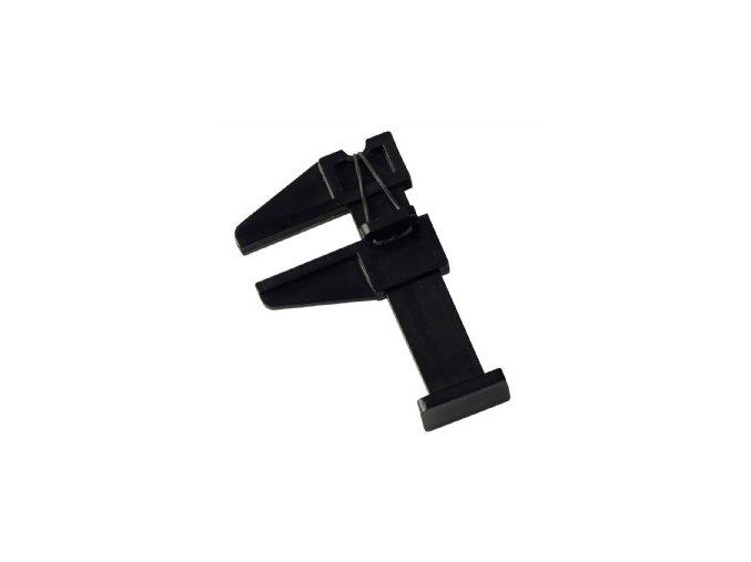 Pinčovací svorka na akryl - černá