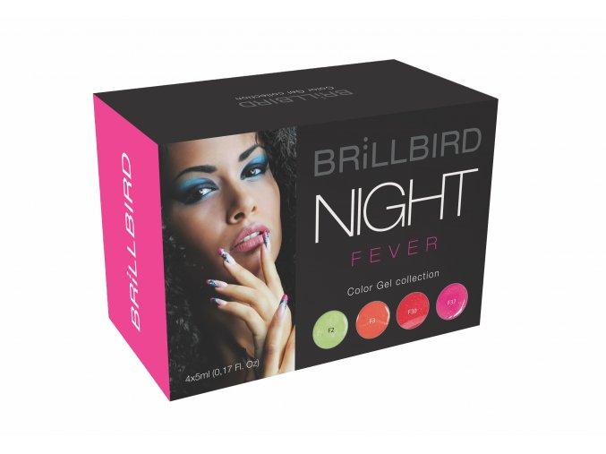 Night Fever Color gel set 4x5ml