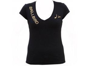 BB bavlněné tričko - černé