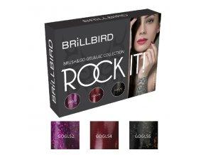 Rock It! Brush&Go Gel&Lac set 3x5ml