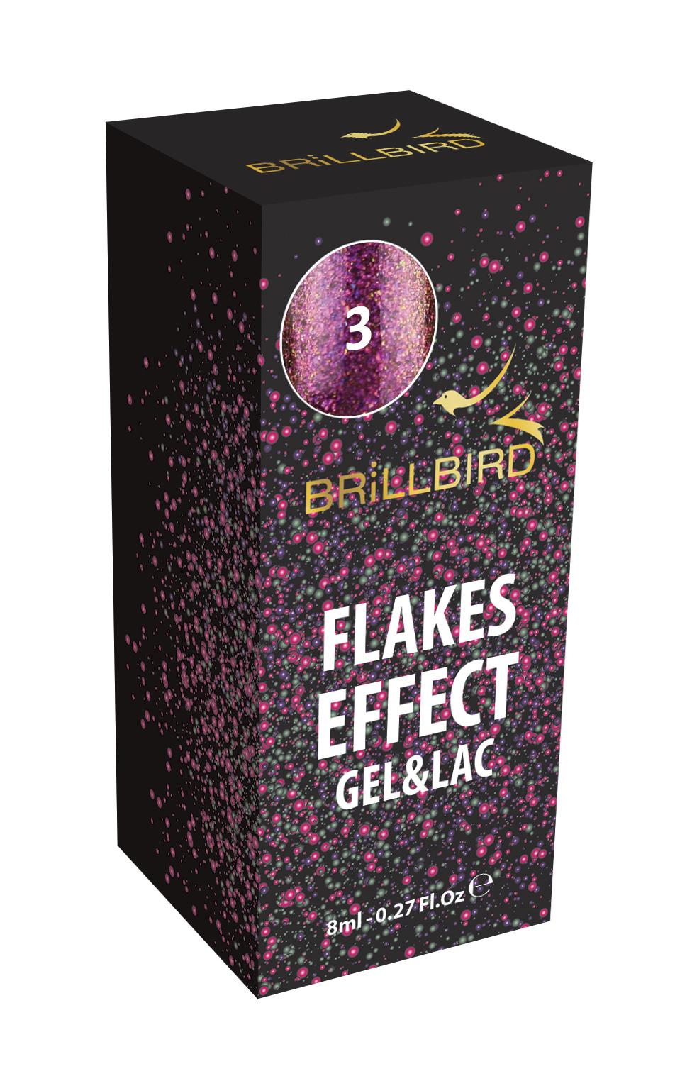 Flakes Effect Gel lak