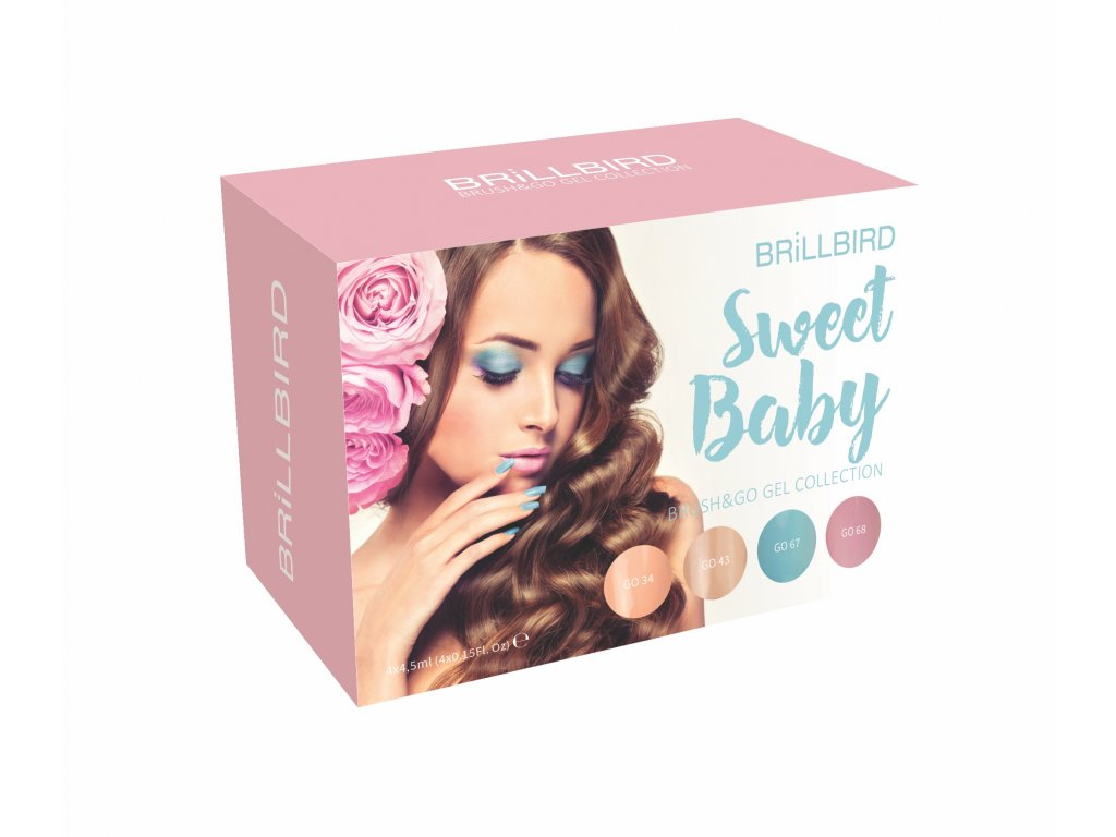 Sweet Baby Brush&Go gel set 4x4,5ml