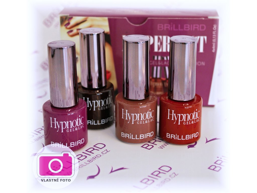Ms. Perfect Hypnotic Gel&Lac set 4x4ml
