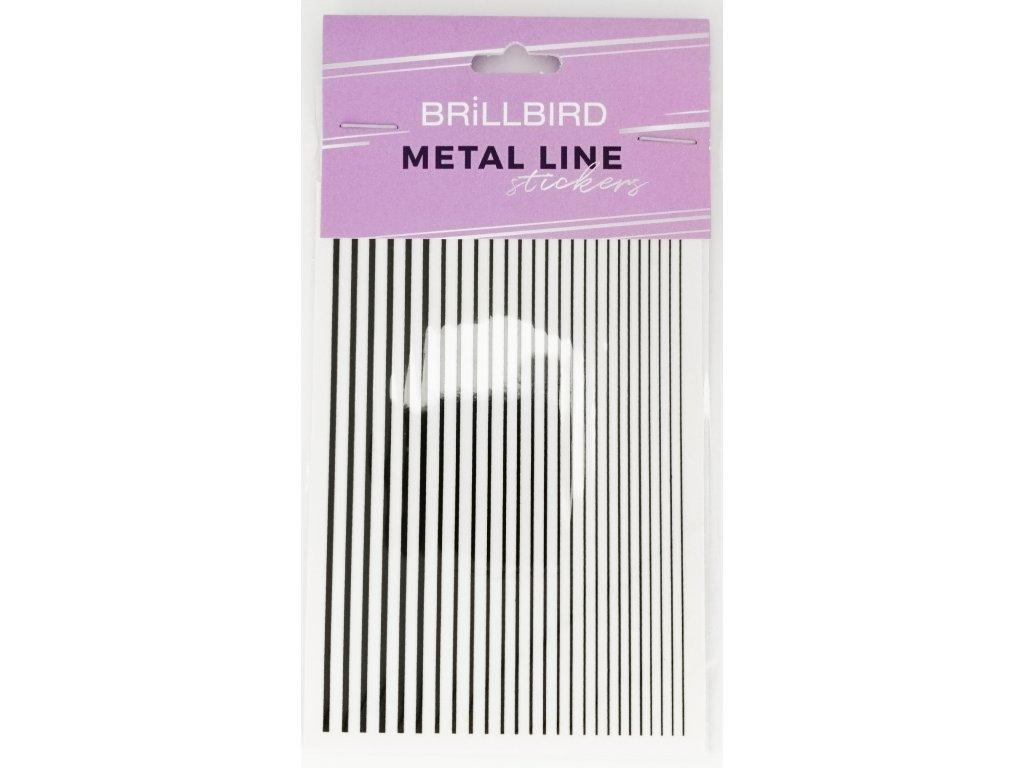 Metal line black 01