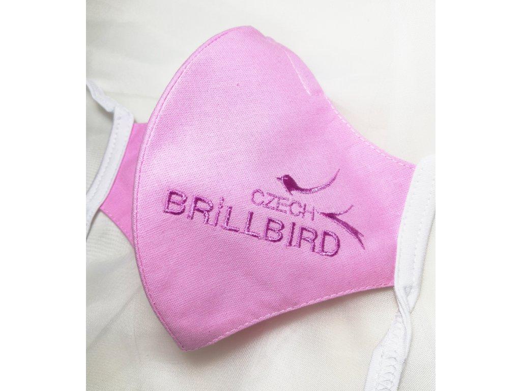 Rouška s logem BrillBird