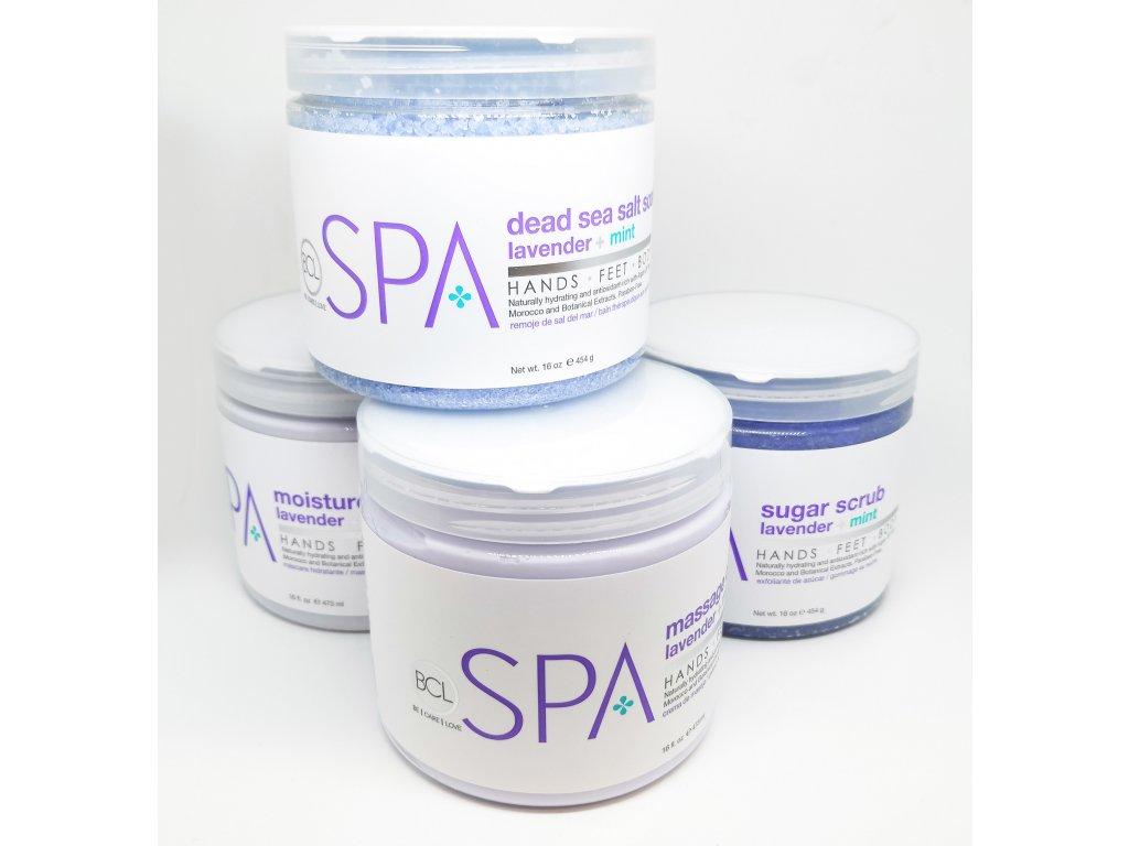 SPA53110 Lavender + Mint 4 Step Starter Kit16oz