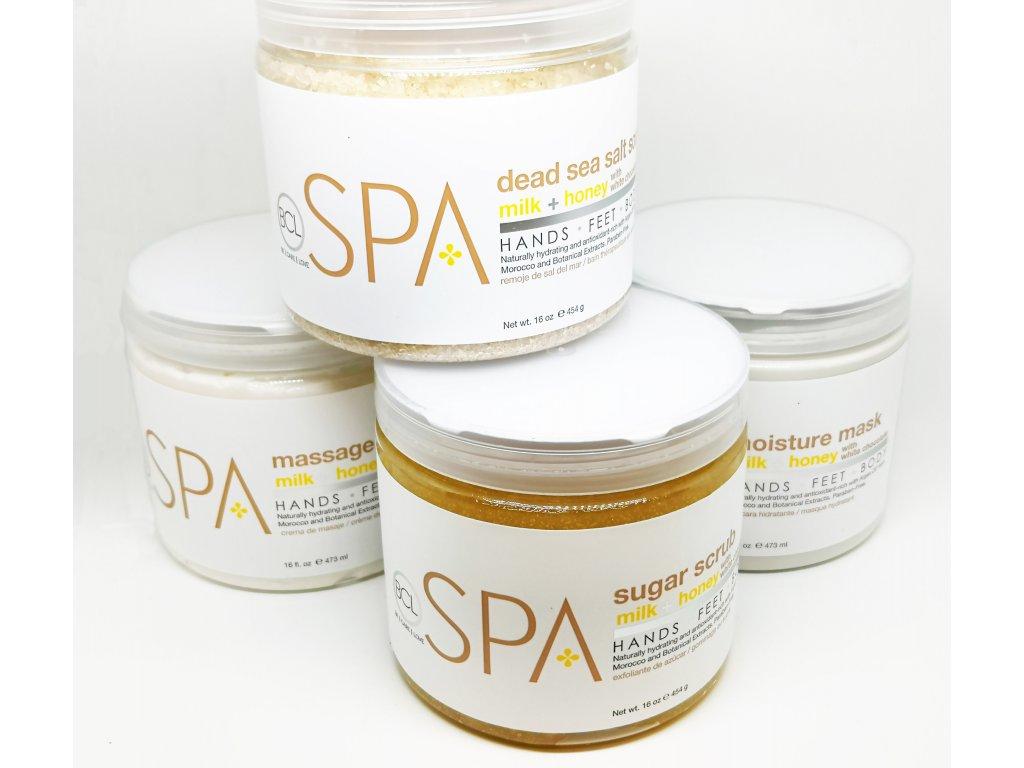 SPA54110 Milk + Honey with White Chocolate 4 Step Starter Kit