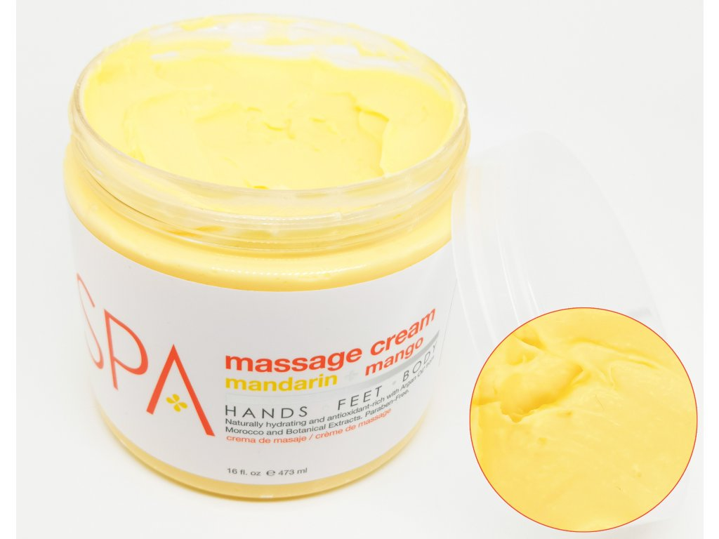 SPA52106 Massage Cream Mandarin + Mango 473ml