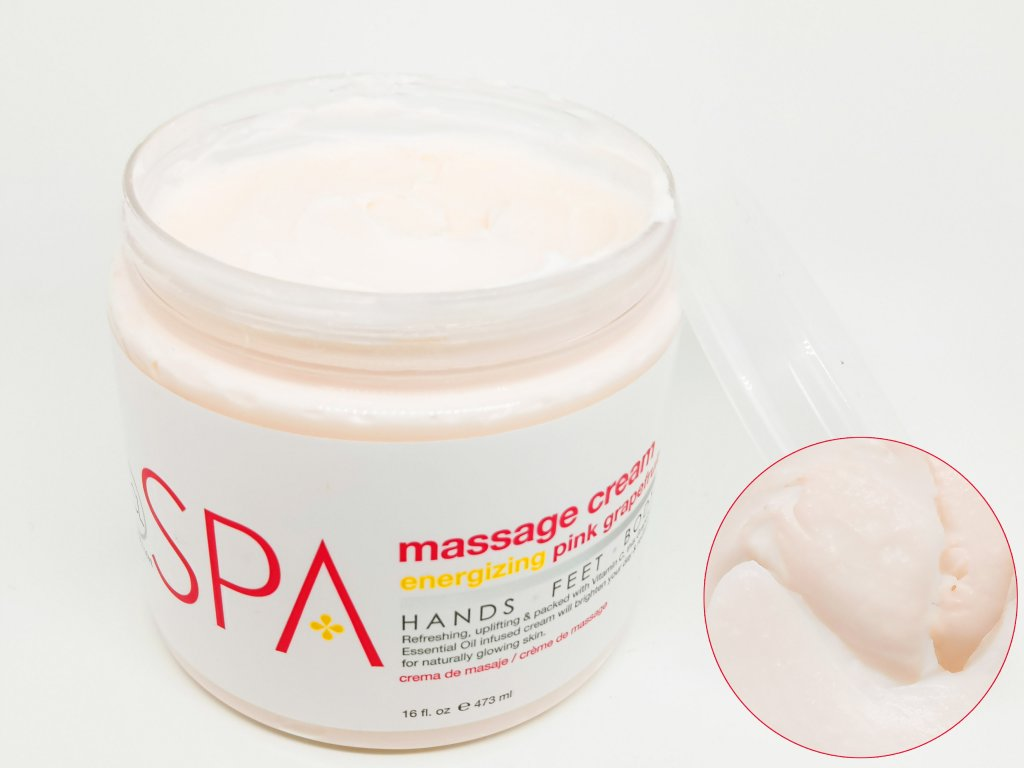 SPA58016 Massage Cream Pink Grapefruit 473ml