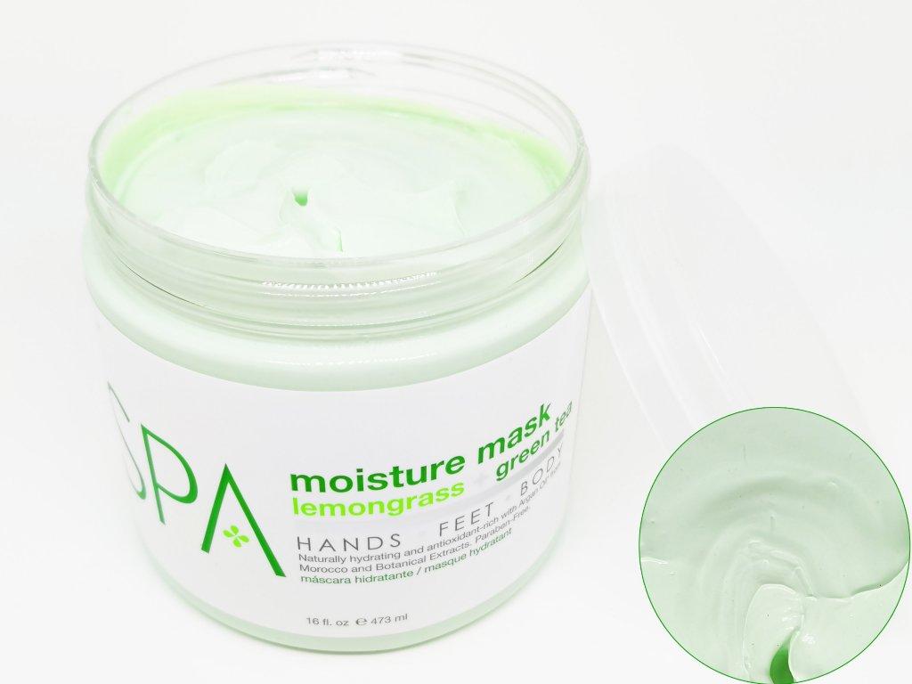 SPA51100 Moisture Mask Lemongrass + Green Tea 473ml