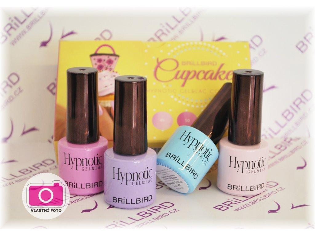 Cupcake Hypnotic gel&lac set 4x4ml