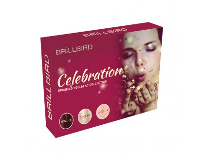 Celebration BRUSH&GO GEL&LAC SET 3X5ML