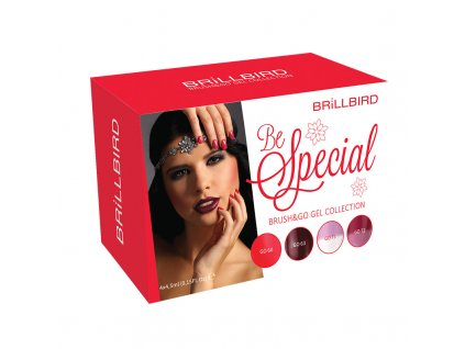 Be Special Brush&Go gel set 4x4,5ml