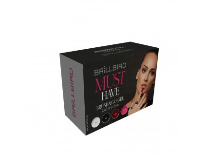 Must Have Brush&Go gel set 4x4,5ml