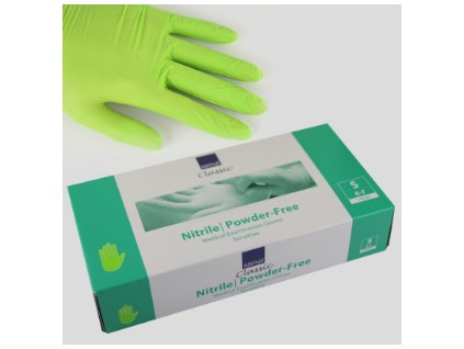gloves green S