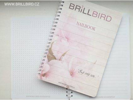 Nailbook - poznámkový blok BrillBird