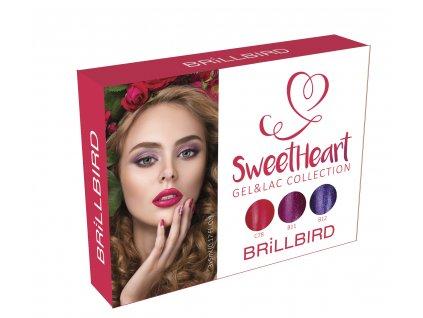 Sweet Heart Gel&Lac set 3x5ml