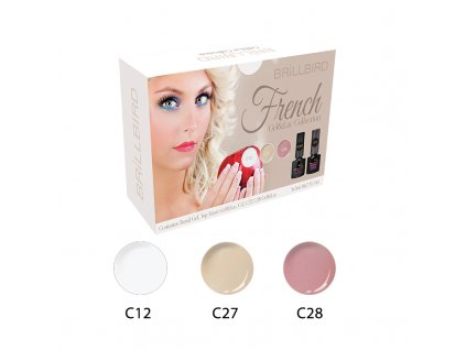 Mani Gel&Lac Kit French 5x5ml